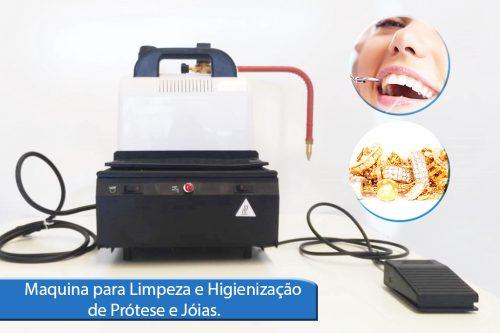 Maquina para limpeza e higienização de Próteses e Jóias